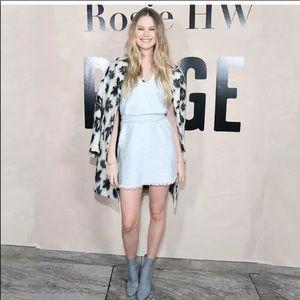 ROSIE HW x PAIGE lightwash denim slip on dress H21
